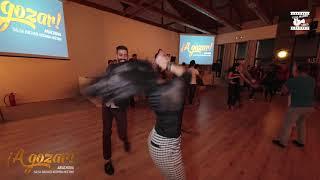 Salsa dancers pt1 - social dancing @ A GOZAR ARACHOVA SBK Meeting