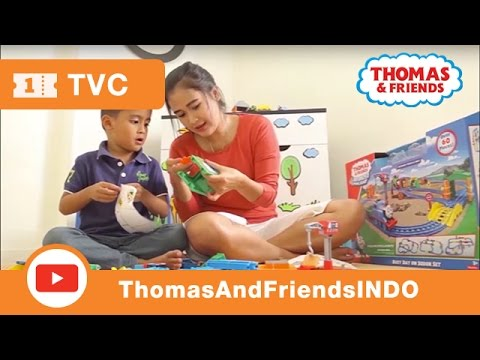 Thomas & Friends Bahasa Indonesia : Unboxing Busy Day at Sodor