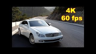 Mercedes CLS 500 Review / Samsung Galaxy Note 9 4K 60fps Camera Test on Amazing Road TV