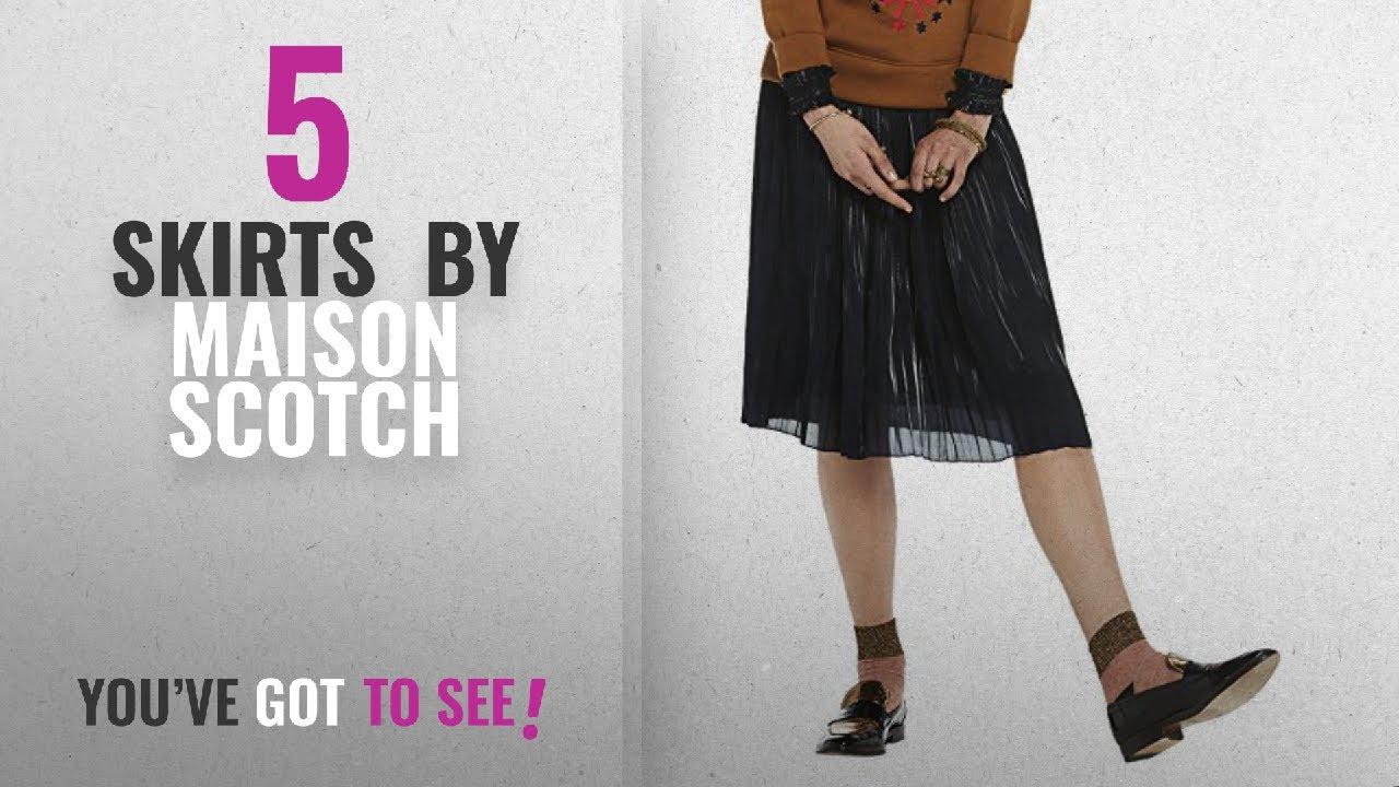 9520e591d6 Top 10 Maison Scotch Skirts [2018]: Scotch & Soda Women's Pleated Skirt
