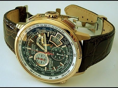 Citizen BY0003-07E Chrono-Time A-T H610 Limited Edition ...