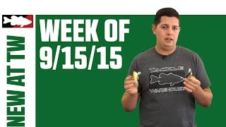 What's New At Tackle Warehouse Jake Cotta 9/15/15