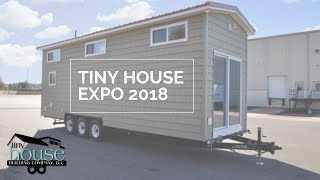 Tiny House Building Company At The 2018 Tiny House Expo In Fredericksburg, Va.