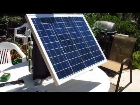 Solar Gadget Charger Update