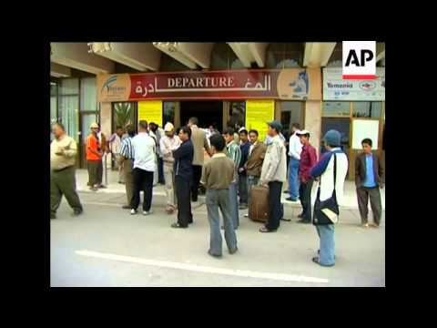 Airport scenes as jet bound for Comoros crashes
