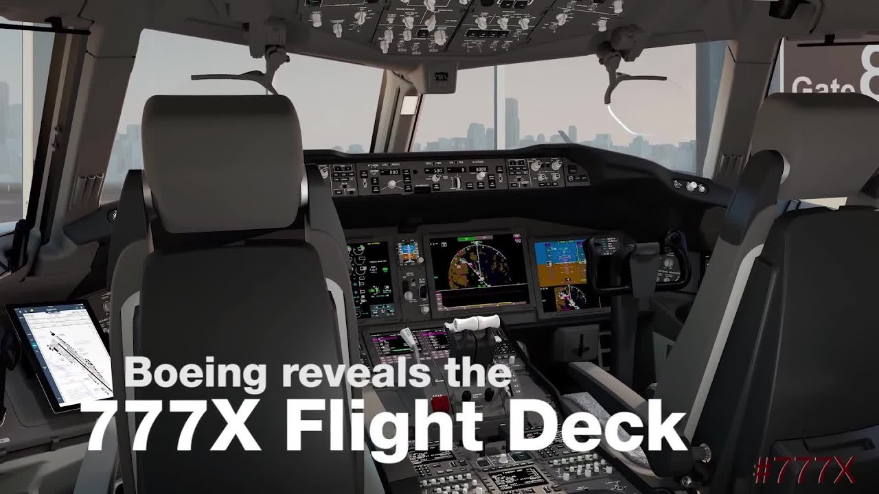 Boeing 777X Flight Deck