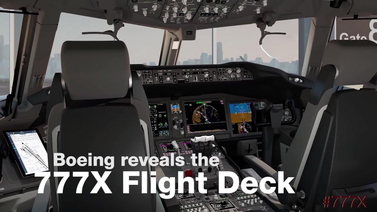 Boeing 777X Flight Deck