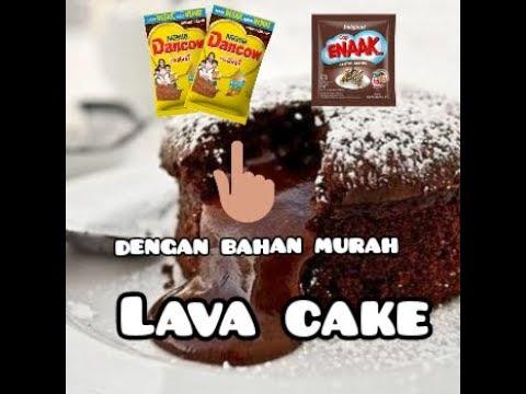 terenak!-bahan-seadanya-hasil-istimewa||-lava-cake-dancow||-cake-viral||cake-kukus-anti-gagal