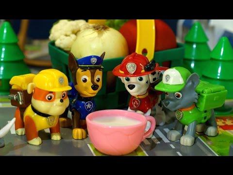 Мультики с игрушками Щенячий Патруль на русском языке. Сказка Спокойной Ночи Малыши
