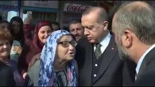 Boşnak Nine'den Cumhurbaşkanı Recep Tayyip Erdoğan'a Boşnakça Dualar