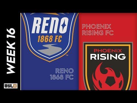 Reno 1868 FC vs  Phoenix Rising FC: June 18th, 2019