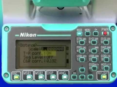 total station 12 nikon npl 352 setting and leveling initial rh youtube com nikon nivo 5c total station manual nikon nivo 3c total station manual