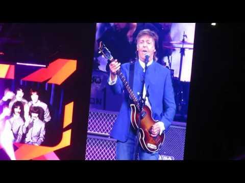 """Paul McCartney """"Its a Hard Days Night""""Verizon Center, Wash,DC 08.10.16"""