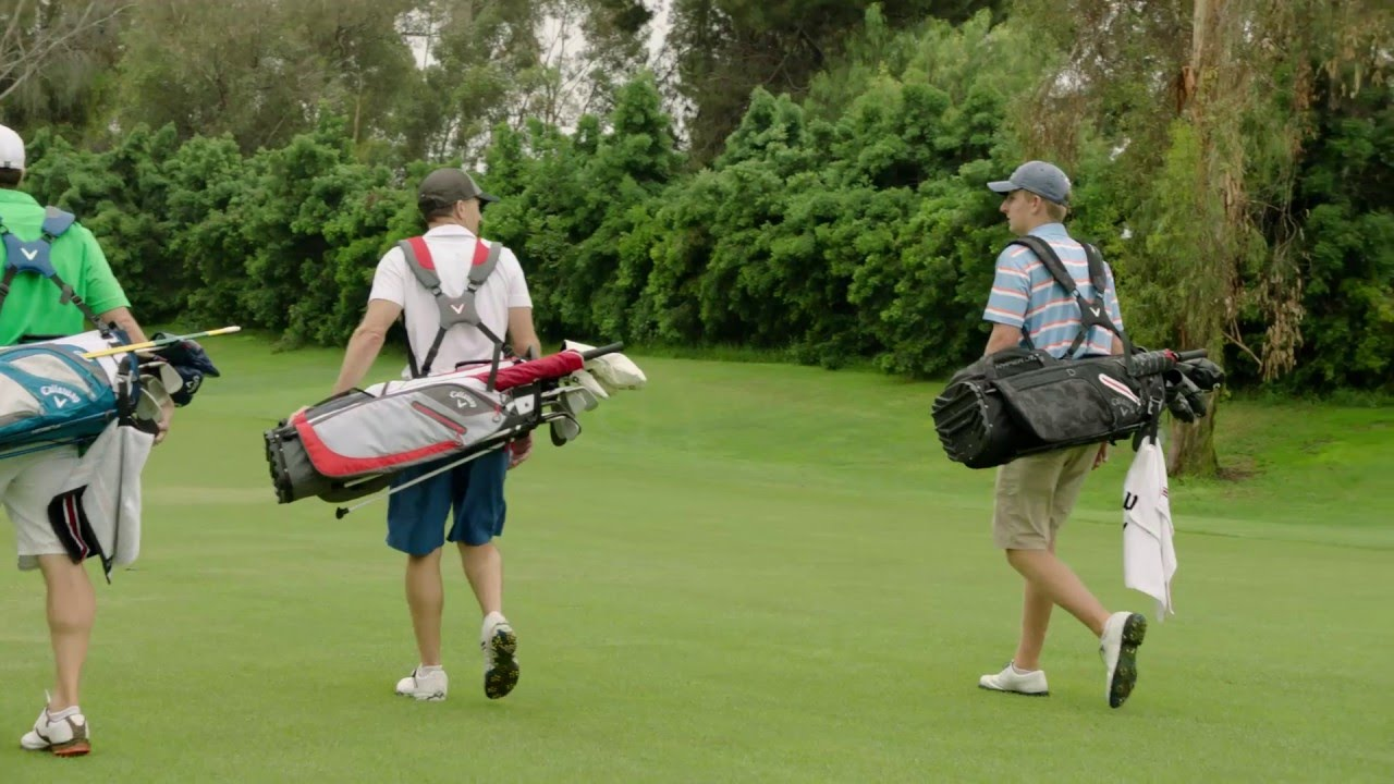 2016 Callaway Golf Hyper Lite 5 Stand Bag Youtube