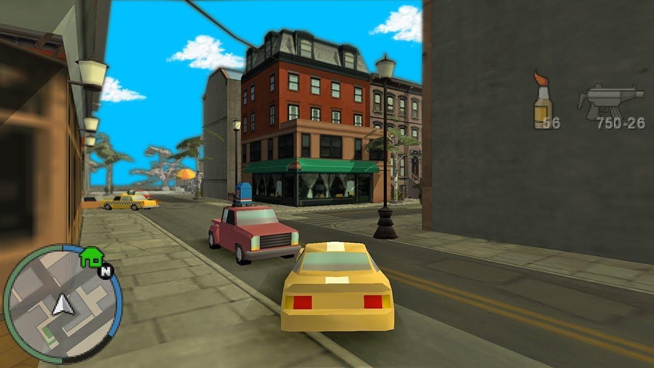 GTA Chinatown Wars in 3D (Chinatown Wars Third Person)