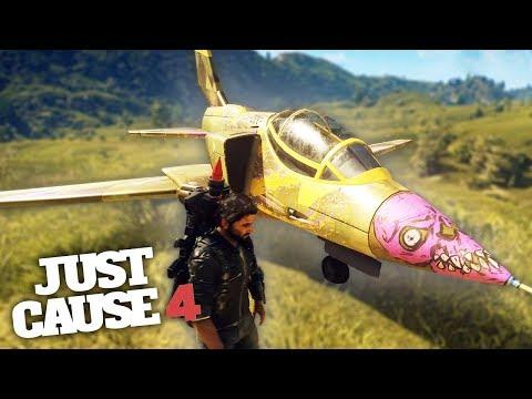 JET STUNTS IN JUST CAUSE 4! - Just Cause 4 Stunts & Fun!