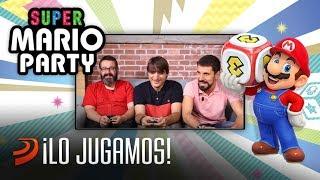 ¡Jugamos a Super Mario Party para Switch!