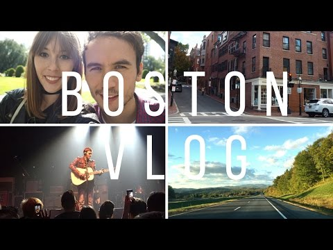 A Trip To Boston Vlog | Fashion Et Moi