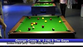 Golden 8 Ball 2012 - George Cross