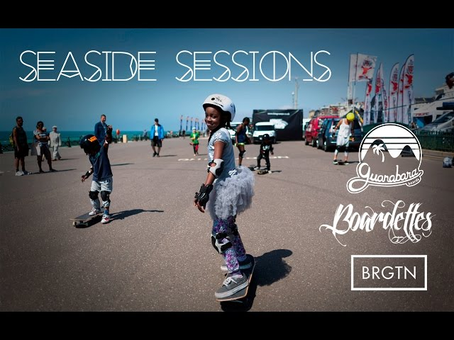 Seaside Sessions - Oficina de Skate Longboard em Brighton Inglaterra!