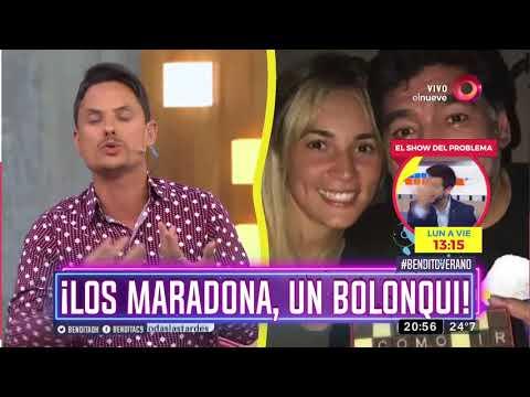 ¡Los Maradona, un bolonqui!