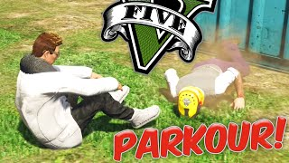 GTA V - Eligium Vs. Zeal Confronto ÉPICO no PARKOUR!