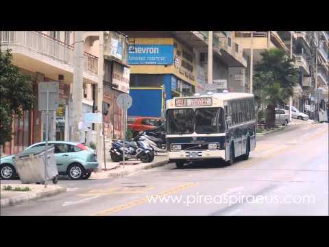 """Το """"πράσινο"""" 040 ξανά στους δρόμους του Πειραιά ( Volvo SB756 Σαρακάκη)"""