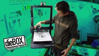 Der 3D Drucker ist da!