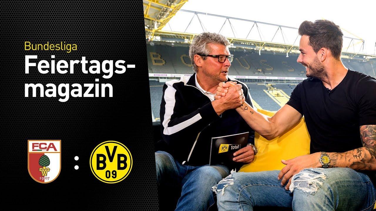 Das BVB total!-Feiertagsmagazin mit Roman Bürki | FC Augsburg vs Borussia Dortmund
