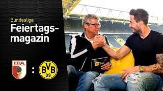 Matchday magazine with Roman Bürki   FC Augsburg vs Borussia Dortmund