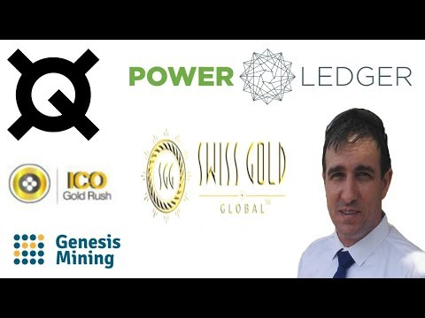 Genesis Mining Swiss Gold Global Quantstamp Power Ledger Ico Gold Rush Update
