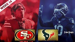 San Francisco 49ers VS Houston Texans Week 14 NFL 2017 Postgame Gathering