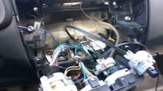 видео Клима, установка системы управления отопителем салона (СУОС) Ваз 2104-2105-2107