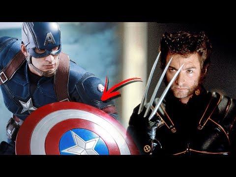 ¿Que es mas Fuerte el Vibranium O Adamantium?  Wolverine vs Capitan America