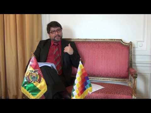 Evo Morales, constitution : entretien avec l'Ambassadeur de Bolivie en France