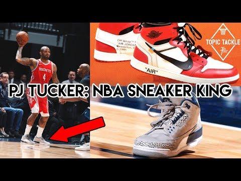 Michael Jordan asked him where he got his Shoes! PJ Tucker- NBA Sneaker King