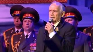 В.С. Лановой в мэрии Москвы - песня офицеры
