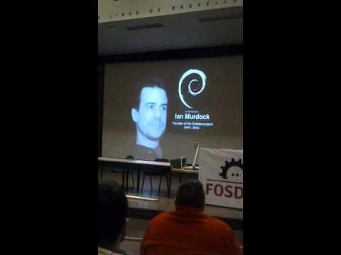 Ian Murdock- In Memoriam @ FOSDEM