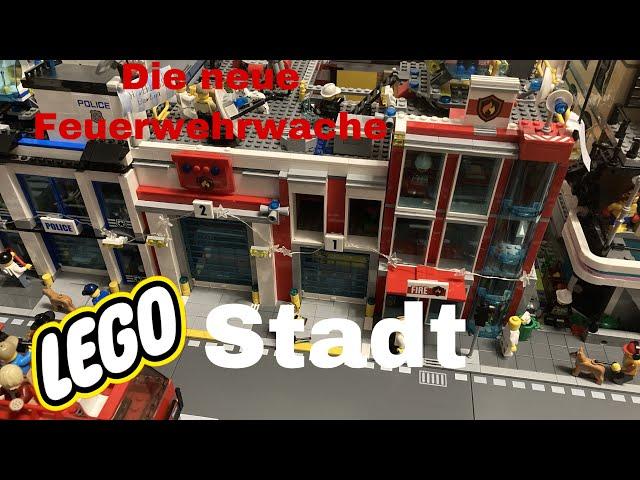 Lego Stadt Update 5 / Die neue Feuerwehrwache