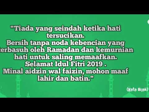 Ucapan Selamat Idul Fitri 2019 1440 H Story Wa Facebook Ig Line