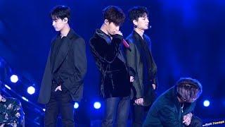 181014 B.I 비아이 iKON 아이콘 '사랑을 했다 LOVE SCENARIO' 4K 60P 직캠 @BBQ 슈퍼 콘서트 by DaftTaengk