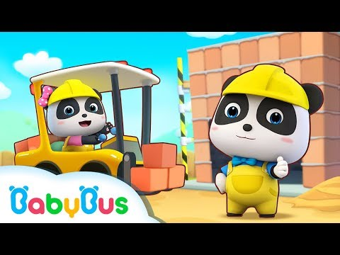 Little Panda Architects Build a Big World | Kids Role Play | Best Job Song for Kids | BabyBus