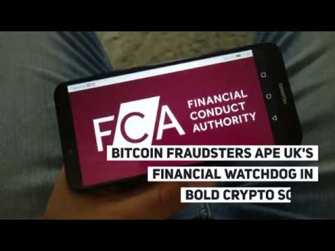 Bitcoin Fraudsters Ape UK's Financial Watchdog In Bold Crypto Scam