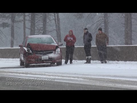 Travel Headache & Heavy Snow in at Donner Pass, CA