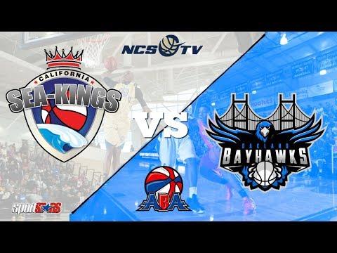 California Sea-Kings vs Oakland Bayhawks ABA Basketball LIVE 12/10/17