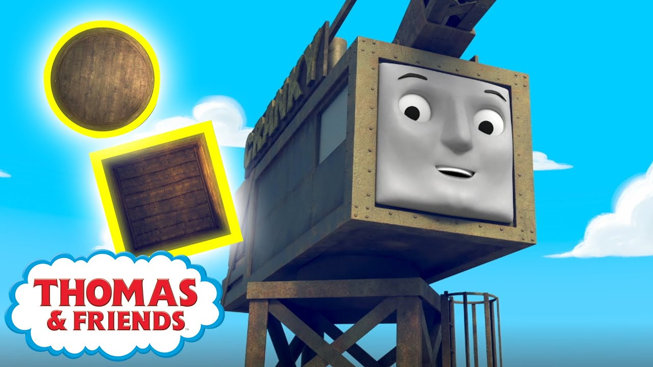 Let's Learn Shapes Together | Learn with Thomas and Percy | Song Compilation | @Thomas & Friends