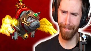 Asmongold Reacts to The Lunar New Year Store Mount In World of Warcraft