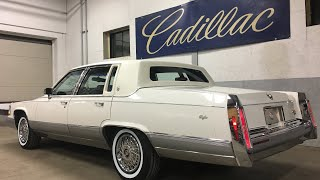 1991 Cadillac Brougham 38k For Sale at Specialty Motor Cars walk around video and  test drive