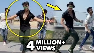 tiger-shroff-s-tribute-to-his-idol-hrithik-roshan-on-ghungroo-song-from-war-le-gayi-le-gayi
