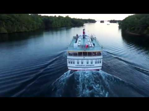 St. Lawrence Cruise Lines - Your Journey Begins